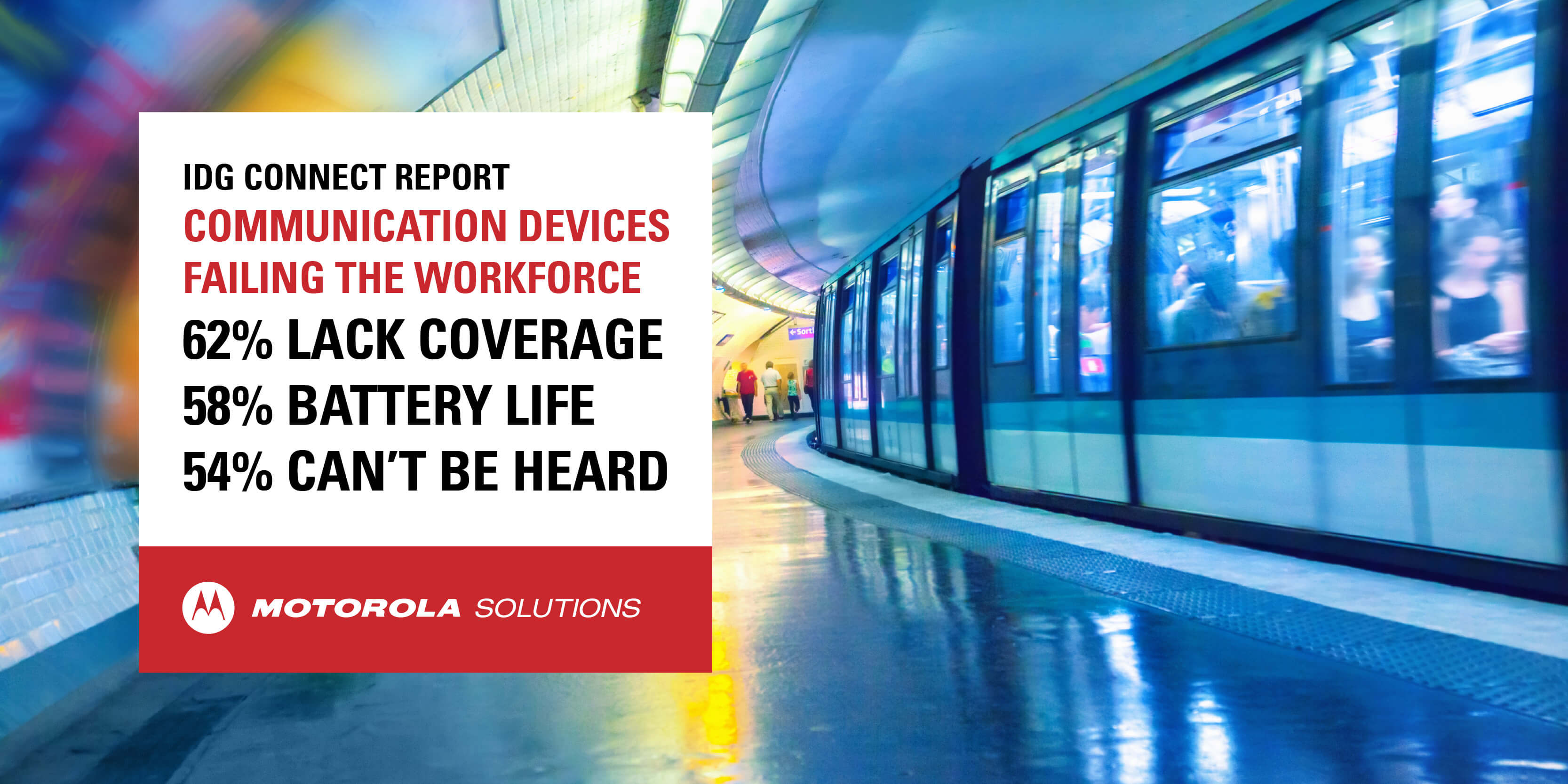 Comms devices failing the workforce compressed